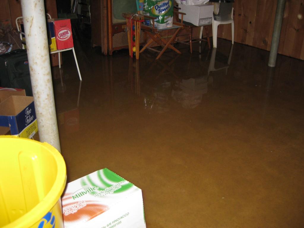 Flooded Basement San Diego